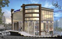 محل للبيع داخل مجمع تجاري منطقة السابع موقع مميز جدا