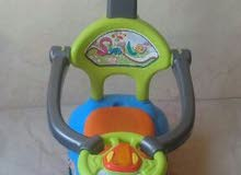 baby car with music w 7meye lal bebe