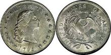 liberty 1795 morgan united state of america