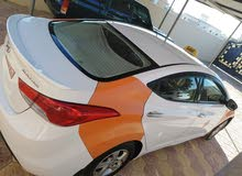 Hyundai Elantra 2013 For sale - Orange color