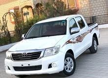 تويوتا هايلوكس 2700 موديل 2014 تأمين سنه عمان والامارات السياره بحاله ممتازه