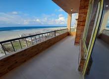 شقة صف أول على البحر بانوراما هاااي لوكس مسجلة بالجمعية شاطي النخيل 6اكتوبر اسكن