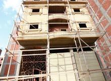 للبيع برج 150 متر على الاحمر باحمد ماهر بالمنصوره