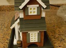بيوت خشبية ..متعددة الاحجام ..يوجد كمية...10د الواحد
