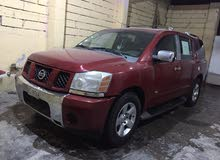 Nissan Armada 2007 For sale - Red color