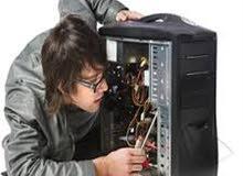 متخصصون في تصليح الكمبيوتر والاب توب