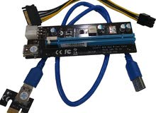 PCI-E 1X-16X USB 3.0 RISER VERSION 009 6PIN