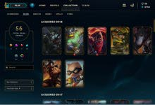 LEAGUE OF LEGENDS ALL CHAMPS, NICE SKINS, PLAT ELO