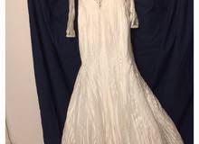 فستان زفاف اوف وايت فاخر جدااا