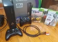 Xbox 360 250GB اصدار 2012 (حالة ممتازة)