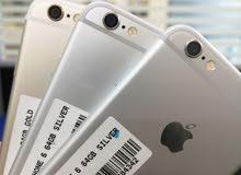 ايفون 6 ذاكرة 64 اصلي مع ضمان تبديل فقط 65 ريال