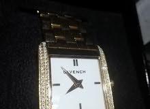ساعة جيفنشي مرصعة بالالماس فخمة جدا رجالي