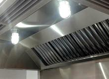 فني تهويه مركزية  شفاطات مداخن مطاعم مقاهي مطابخ حمامات