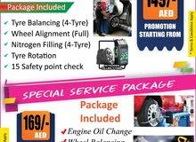 Car Repair, Tyre Change and Maintenance Garage Abu Dhabi