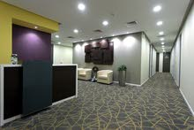 Fully furnished office for rent with Trade License.