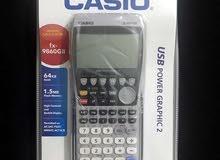 الة الحاسبة كاسيو Graphic calculator FX-9860GII جديدة للبيع
