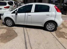 مطلوب سيارة فيات بونتو 2018 مرخصة لون ابيض