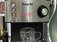 مكينة ساتشي مستعملة 5 اشهر فقط + أدواتها