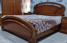 غرفة نوم صاج وطخم قنفات تركي وميز وكراسي وعارضه وزوليه