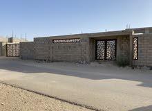 قطعة ارض سيدي خليفة خلف بوعشرين 640م بها منزل واقف علي الصبة