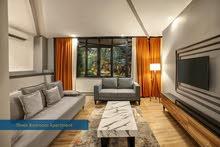 شقق سوبر لوكس ثلاثه غرف نوم وصاله ضمن مجمع فندقية مخصص للسكن العائلي