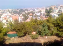 land for sale (kennabet brouman) zone A1 30/90 open sea view