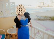 فستان سهرة وارد أمريكي مستخدم مدة ساعتين فقط
