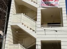 شقة ارضية مساحة 130م