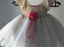 فستان كروشيه جاهز للبيع ...للعيد