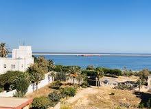شقة مطلة ع البحر ( زاوية الدهماني )
