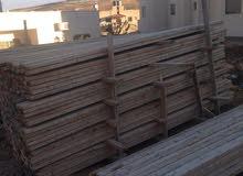 خشب طوبار + ونش كهرباء ايطالي للبيع