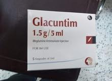 glacuntim  1.5g / 5ml  inj