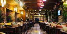 مطعم وكافية للأيجار