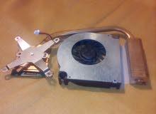 micro processeur plus ventilateur et radiateur pour ordinateur portable