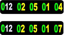 خطين اصفار 012.02.05.01.04---012.02.05.01.07