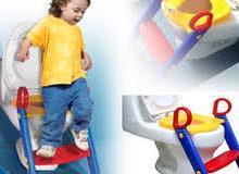 سلم  الحمام لمساعدتك طفلك بالاعتماد على نفسه