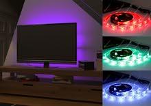 حبل LED ليد إضاءة متغير الألوان والحركات
