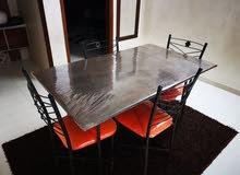 طاولة سفرة حديد أنتيكة