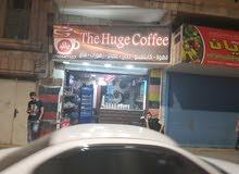 محل قهوة للبيع في الزرقاء الوسط التجاري