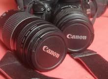 كاميرا كانون  Canon 1100D مستعمل بحالة ممتازة