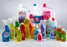 بيع مواد تنظيف عاليه الجودة
