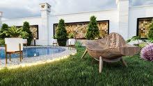 تصميم وتنفيذ شاليهات وحدائق واستراحات وتجهيزها بكل التفاصيل..