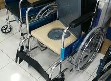كرسي مقعدين مع مقعدة حمام  جديد!!