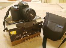Nikon D5300 + 32GB Card + Bag