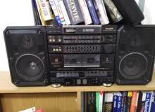 portable stereo music system Sharp GX68