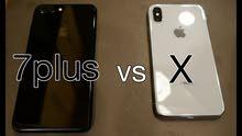 مطلووووووب ايفون X او ايفون 7 بلص مستخدم او جديد