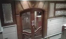 تفصيل أبواب مطابخ غرف نوم وجميع الديكورات الخشبيه