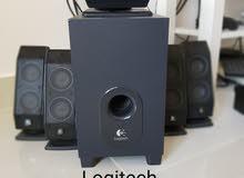 Logitech 5 speaker and sub