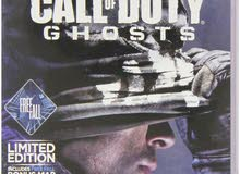 دسكه call of duty ghosts  علي ps3