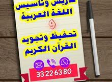 الأستاذ في اللغة العربية